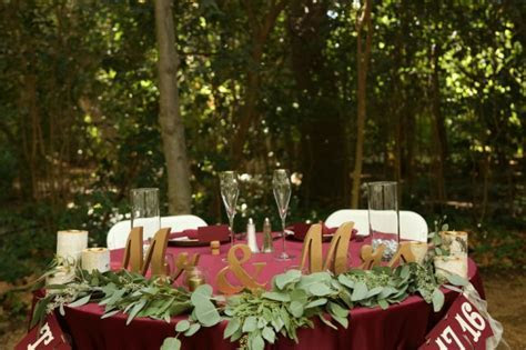 Burgundy & Gold Winery Wedding at Gale Vineyards   Love