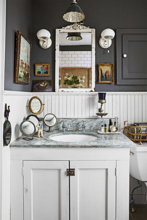 34 Rustic Bathroom Decor Ideas - Rustic Modern Bathroom ...