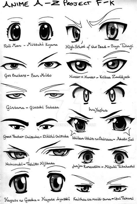 anime eyes yayz   time  decided  draw