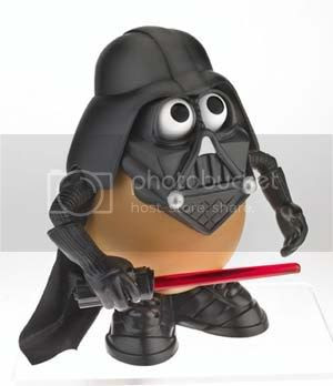 Darth Tater: 'Together we shall rule the galaxy as father and spud.'