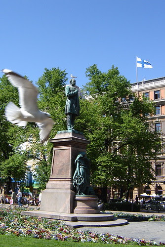 Runeberg, the national poet of Finland