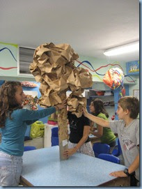 Comenius - Greece -- Tree Structure -- Art Class-3