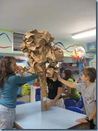 Comenius - Greece -- Tree Structure -- Art Class-3