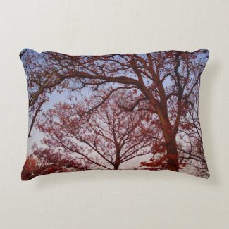 "Real Trees Cotton Accent Photo Pillow 16"" x 12"""