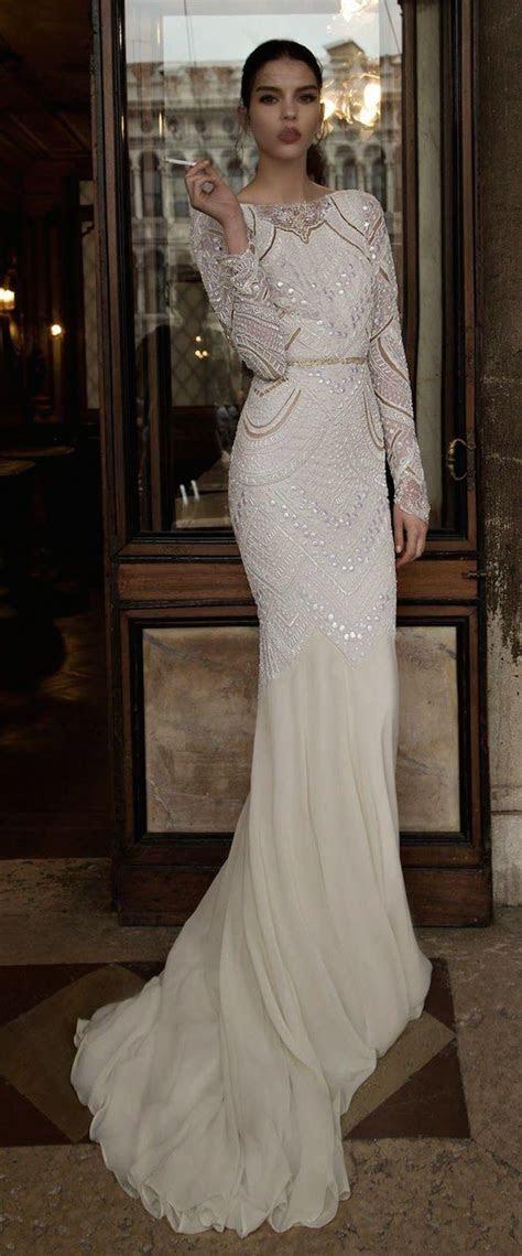 Stunning Long Sleeve Wedding Dresses   MODwedding