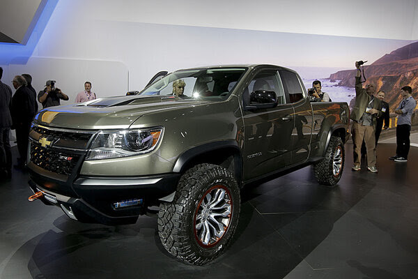 Diesel-powered Chevy Colorado ZR2 debuts at LA Auto Show - CSMonitor ...