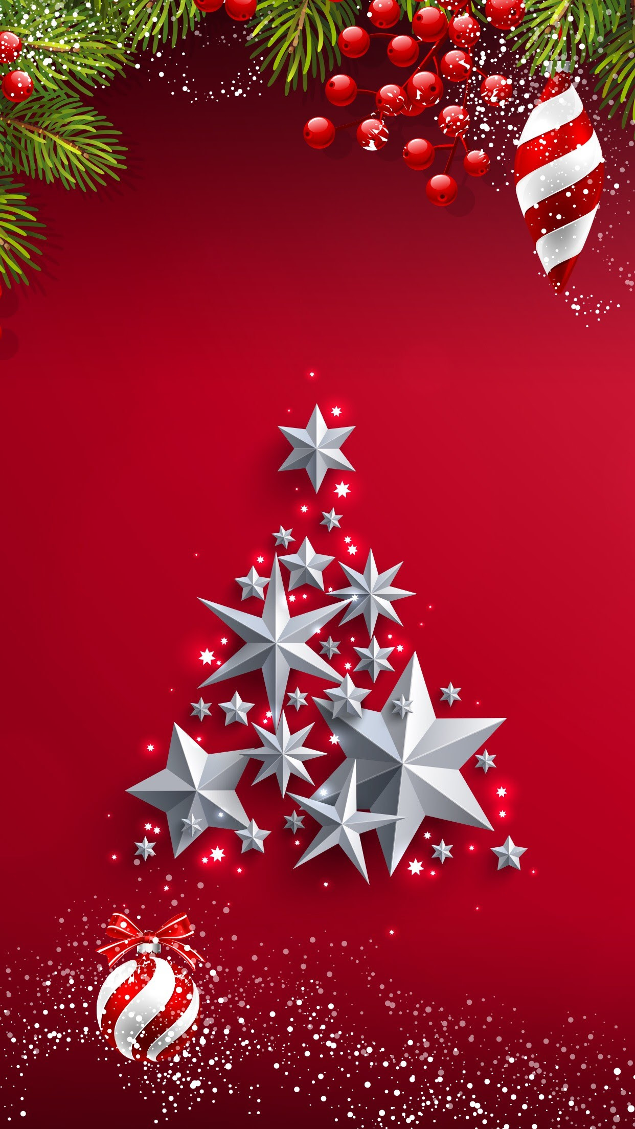 Christmas Tree Phone Wallpaper 80 Images