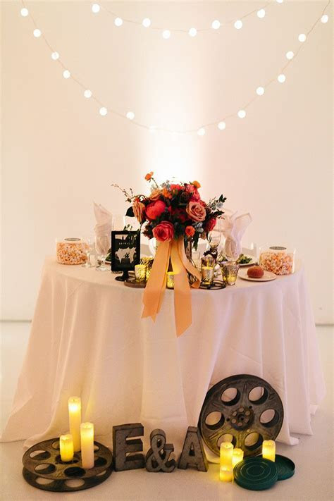 """Don't miss the Tom """"Hankies"""" at this movie themed wedding"""