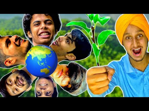 I Collab For #teamtrees Awareness With Madan The Madman With PapaOcus, Sunraybee, HumortMan and other Creator's
