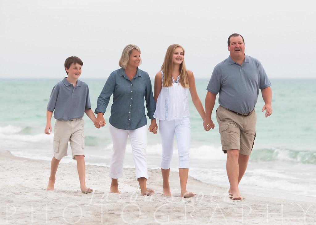 Quandt Family on Longboat Key, April 2013