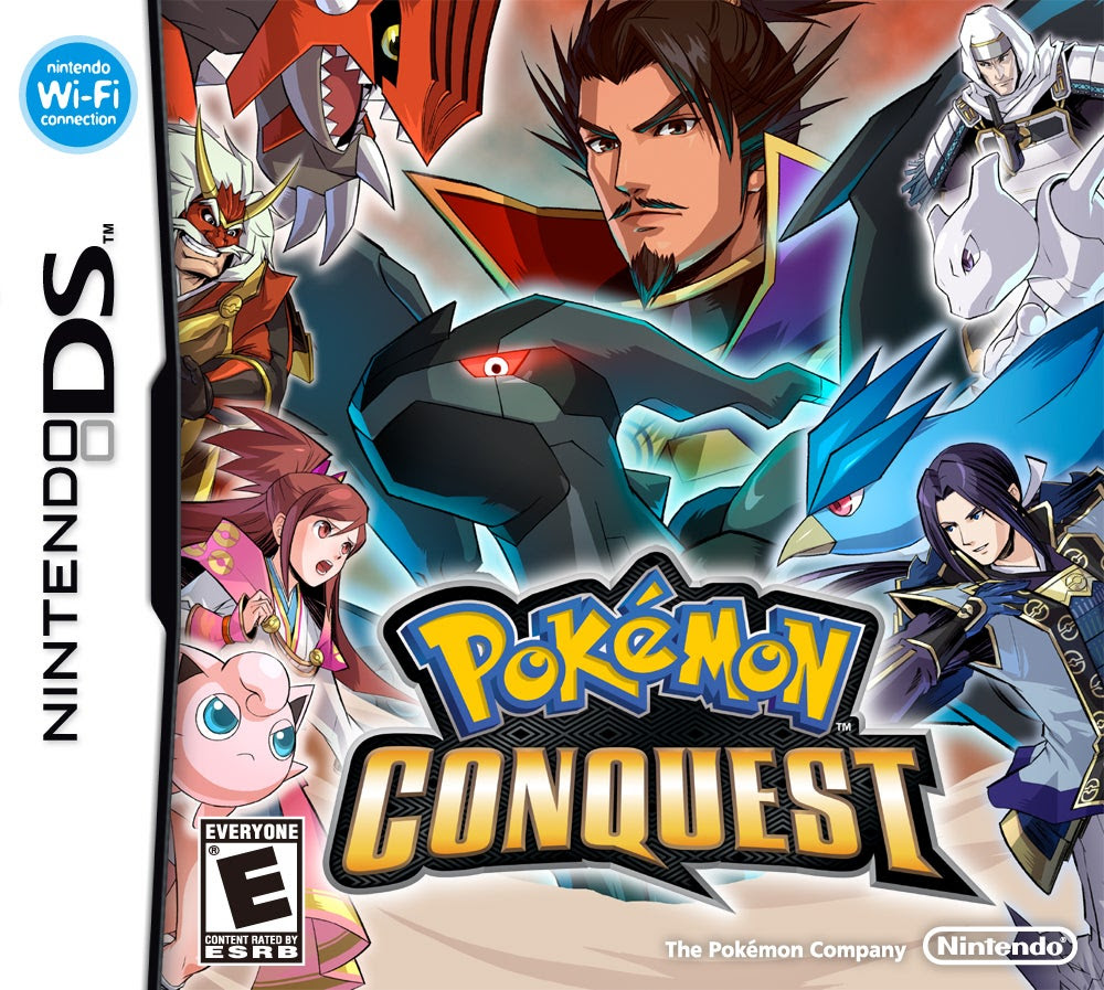 Pokemon Conquest  Nintendo DS  IGN