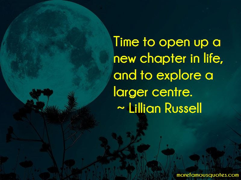 The New Chapter Of Life Quotes Top 30 Quotes About The New Chapter