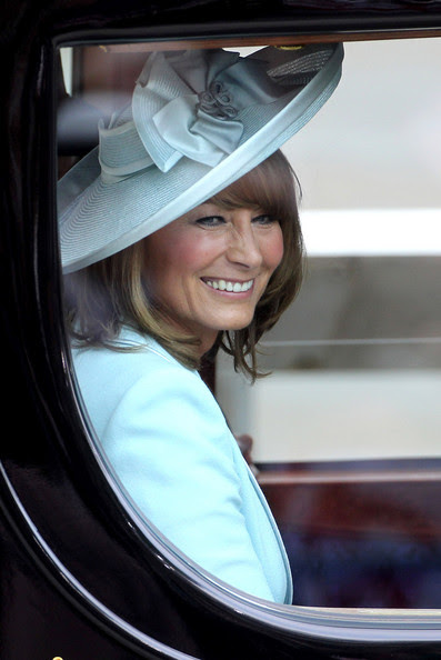 A delighted Carole Middleton after the Royal Wedding of Prince William and Kate Middleton held at Westminster Abbey. Kate & Wills announced their engagement in November last year after William proposed during a holiday in Kenya. The Royal couple will be known after the wedding as the Duke and Duchess of Cambridge.