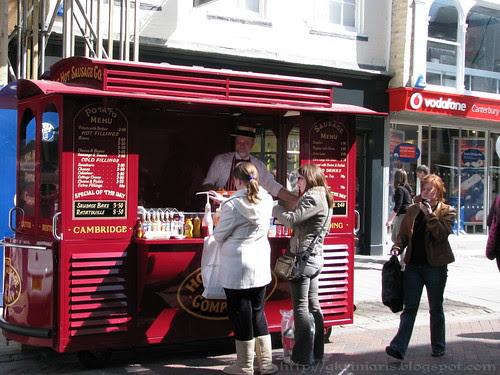At Canterbury's High Street