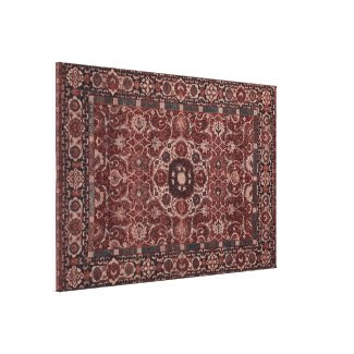 Vintage Persian Tapestry Stretched Canvas Prints