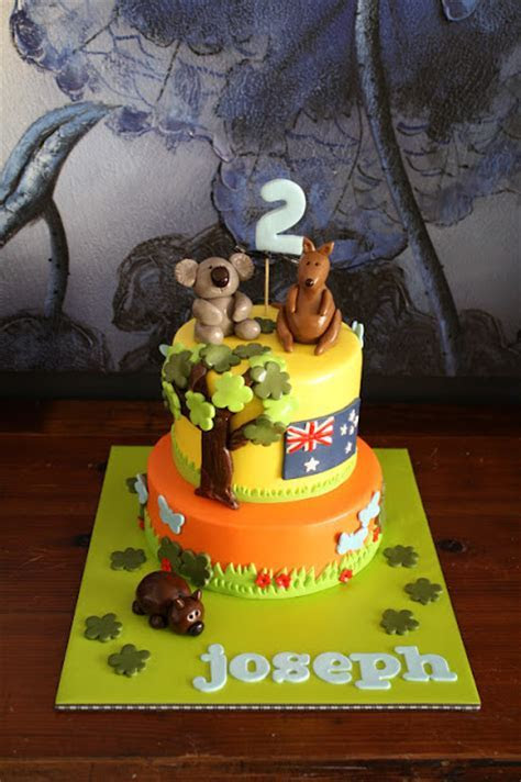 Sandy's Cakes: An Aussie Birthday Cake for an English