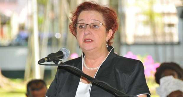 Former Presidential Advisor on Governance under the PPP administration, Gail Teixeira