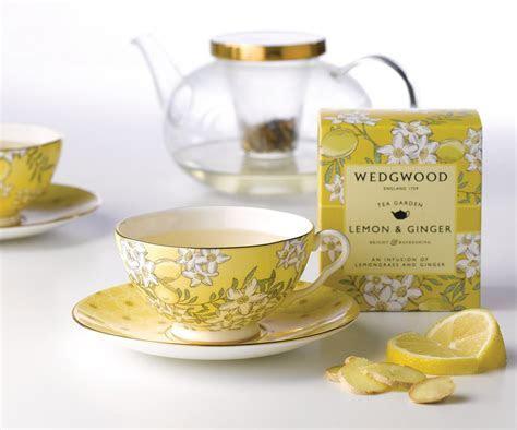 Wedgwood Tea Garden Lemon & Ginger 3 Piece Set   Wedgwood