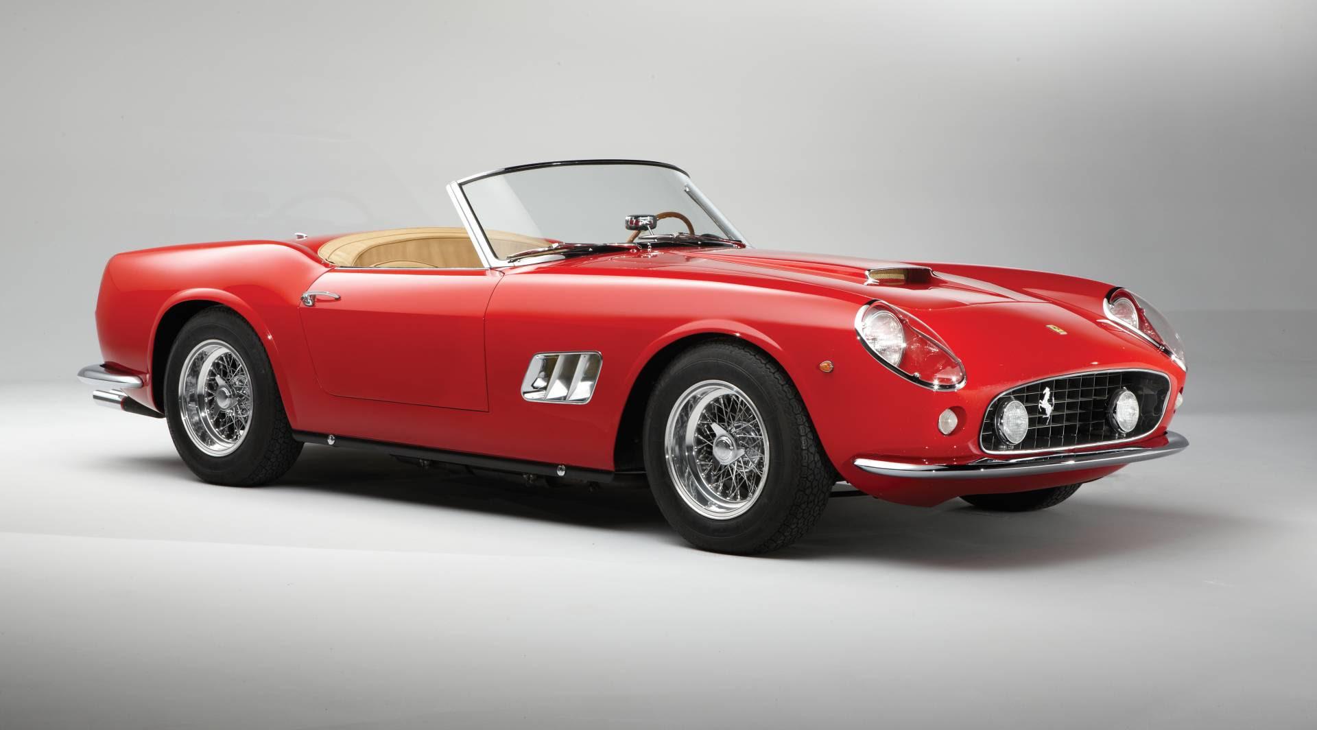 1962 Ferrari 250 GT California at the RM Auctions - Monterey