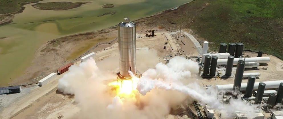 SpaceX fires up Starship SN5 rocket prototype ahead of first test flight #rwanda #RwOT #苦情殺到のお知らせ