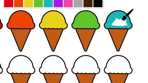 boyama kitabi dondurmalari boyayarak renkleri