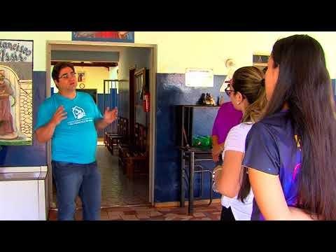 Casa de Apoio São Francisco de Assis recebe visita de alunos do curso de Medicina da Uniderp
