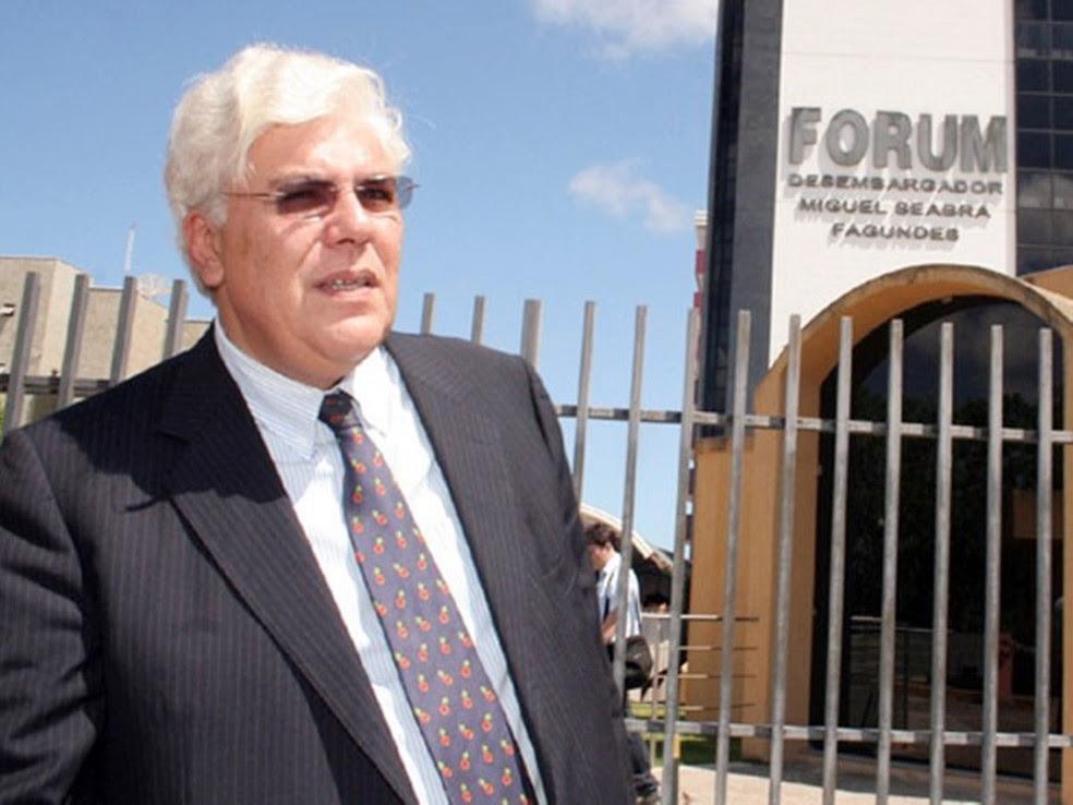 Fernando Freire, ex-governador do RN, está preso desde julho de 2015 (Foto: Marcelo Barroso/Tribuna do Norte)