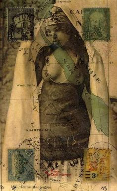 Nick Bantock collage