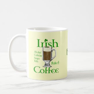 Irish Coffee lovers gifts Coffee Mug
