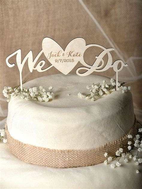 Rustic Cake Topper Wood Cake Topper Heart by