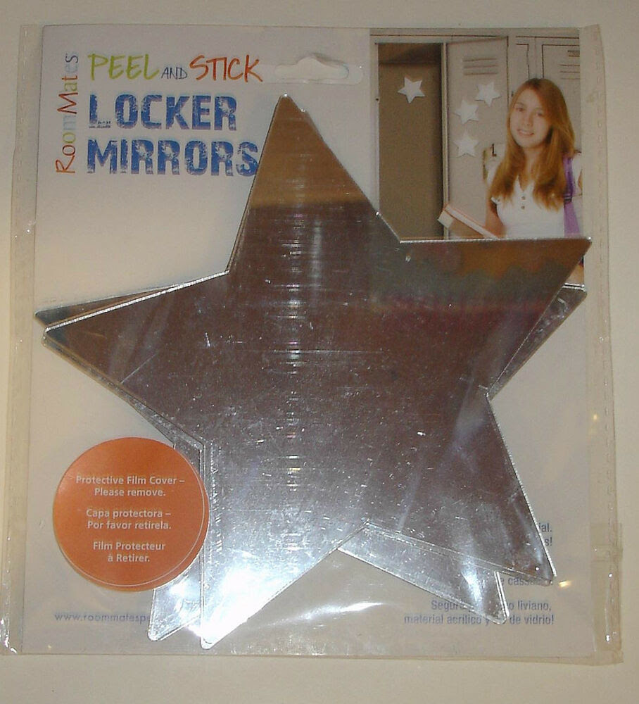New RoomMates Stars Peel and Stick Mirror Wall Decal 4 ...