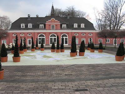Hof Schloss Oberhausen Ludwigsgalerie