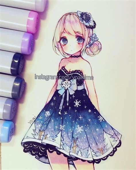 love  dress copic markers pinterest copic