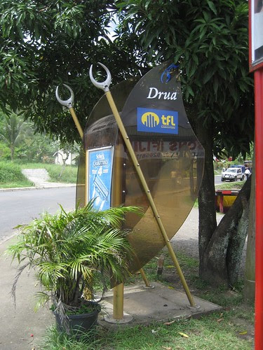 phone booth Fiji