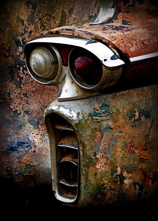 Utterly Beautiful Rusted Metal Art Works (3)