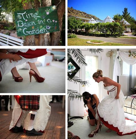 {Real Weddings} Love and fire with a Scottish inspired