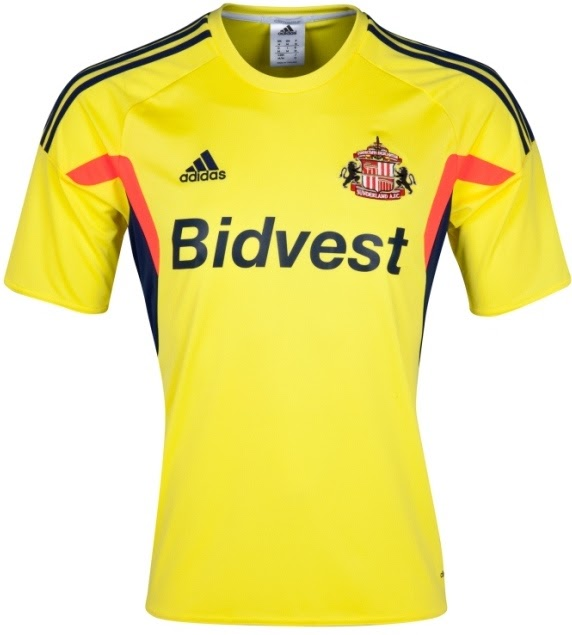 Sunderland New Kit 2013-14- Adidas unveil new Black Cats top for 2013-2014 season