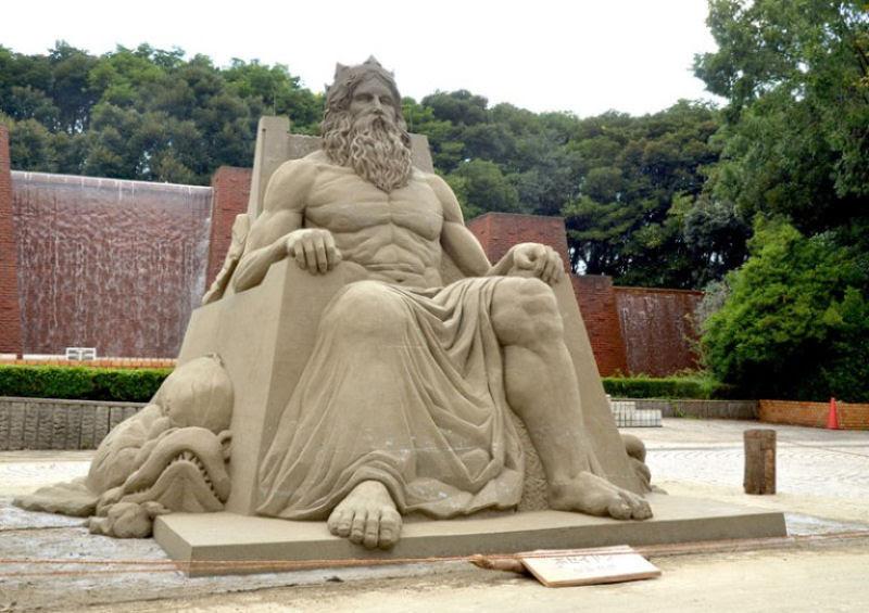 As extraordinárias esculturas de areia de Toshihiko Hosaka 09