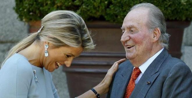 La princesa Corinna recibe al rey emérito. EFE/Archivo