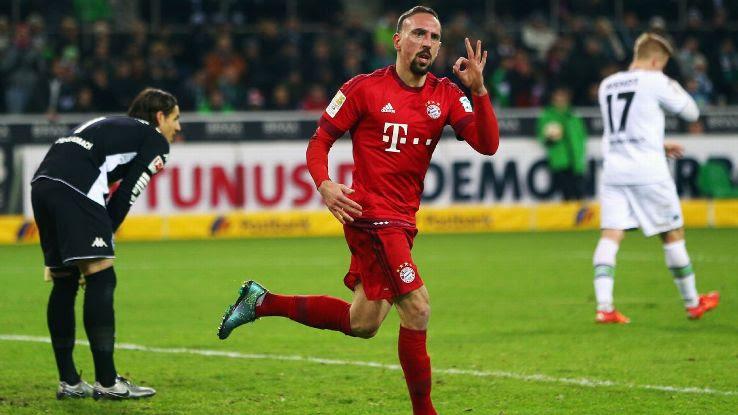 Franck Ribéry Bayern München Bundesliga