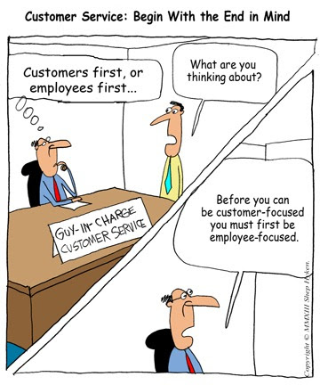Customer Service Start With The End In Mind