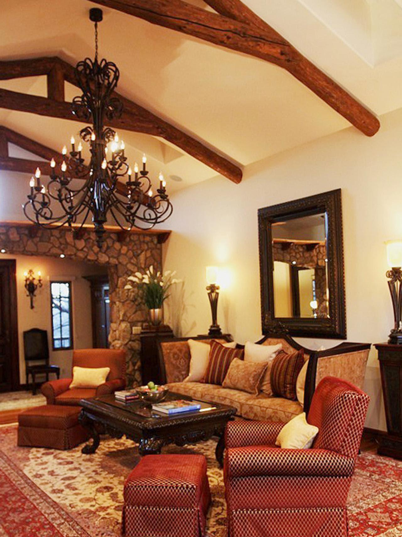 Rustic Living Room Photos | HGTV