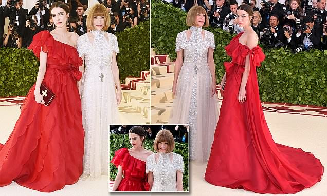 Anna Wintour e Bee Shaffer uau no Met Gala