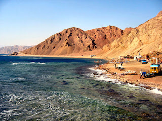 Podwodny Łuk Blue Hole, Egipt