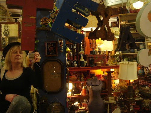 In a junk shop in Texas.