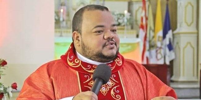 Diocese de Nazaré pede orações pela recuperação da saúde do Pe. Wellington Maciel, acometido pela COVID-19