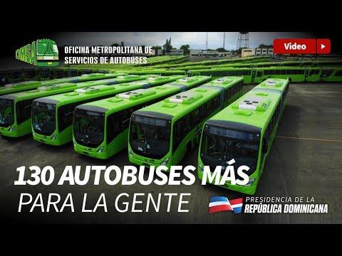 Gobierno incorpora 130 nuevos autobuses OMSA para brindar transporte eficiente y económico.