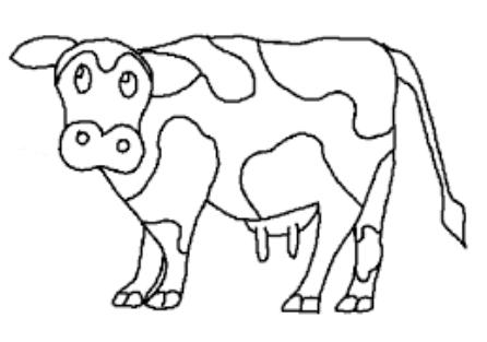 Sketsa Gambar Sapi Untuk Belajar Mewarnai Anak Tk Auto Electrical