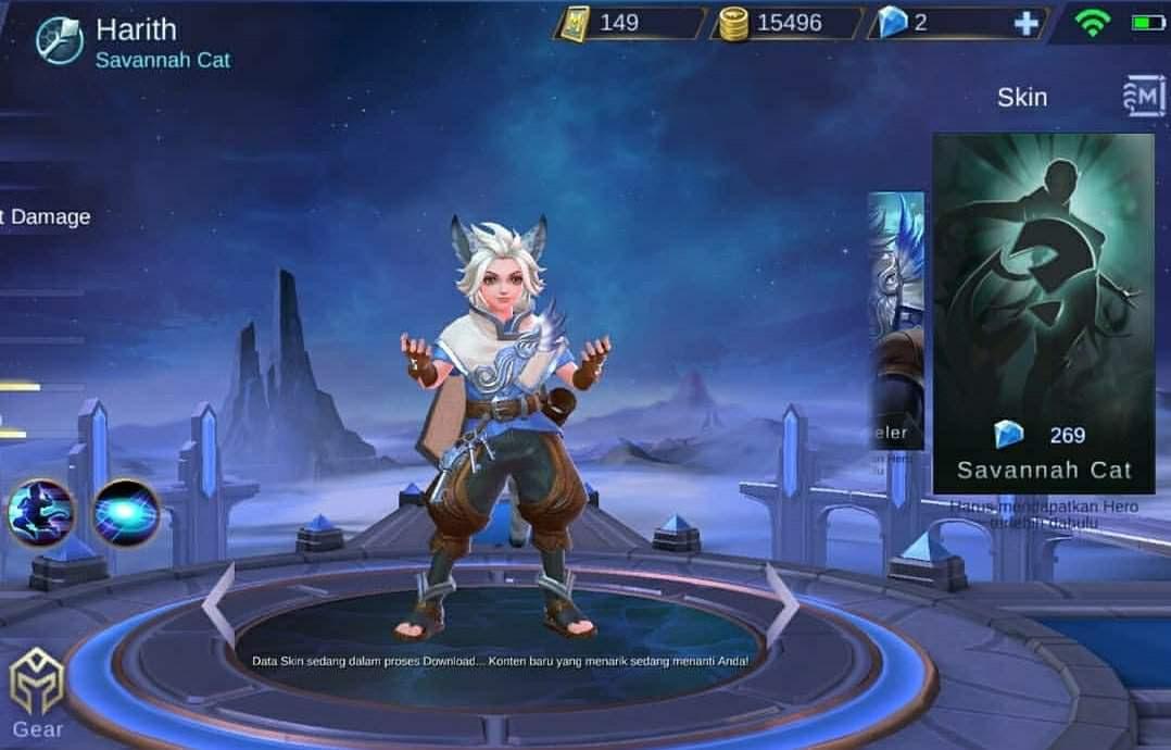 Mobile Legend Harith