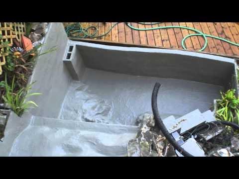 Small Concrete Pond